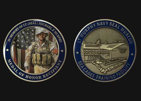 Support - LT Michael P  Murphy Navy SEAL Museum